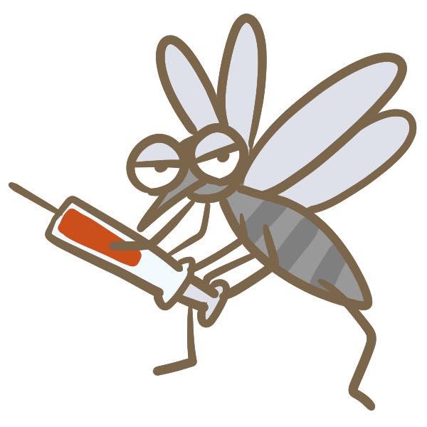 蚊にかまれやすい条件