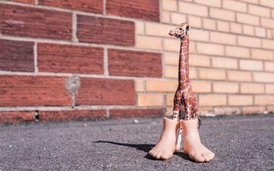 足指はらに縦にできる角質は・・・