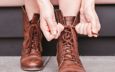 合わない靴はすぐに捨てる